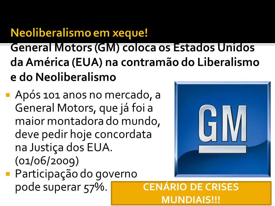 CENÁRIO DE CRISES MUNDIAIS!!!
