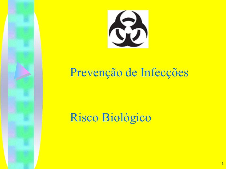 Prevenção de Infecções Risco Biológico