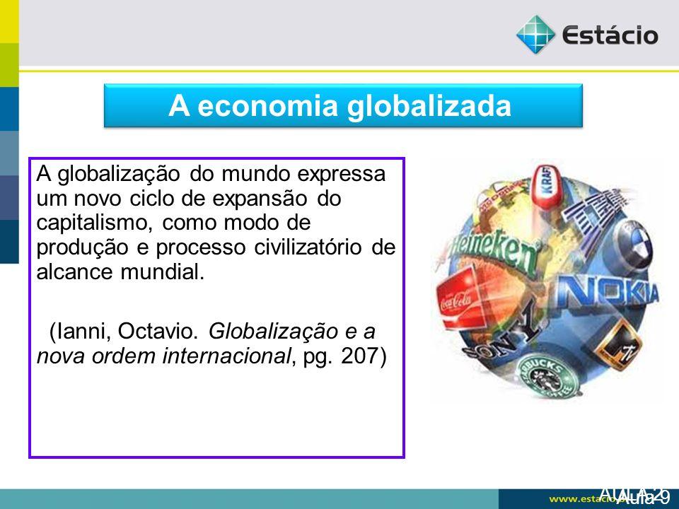 A economia globalizada