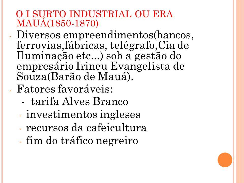 investimentos ingleses recursos da cafeicultura