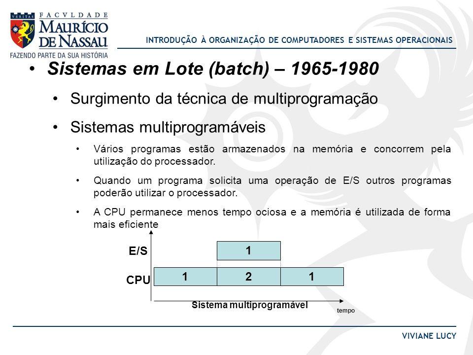 Sistema multiprogramável
