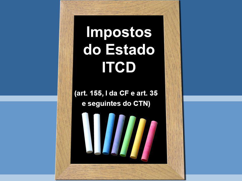 Impostos do Estado ITCD