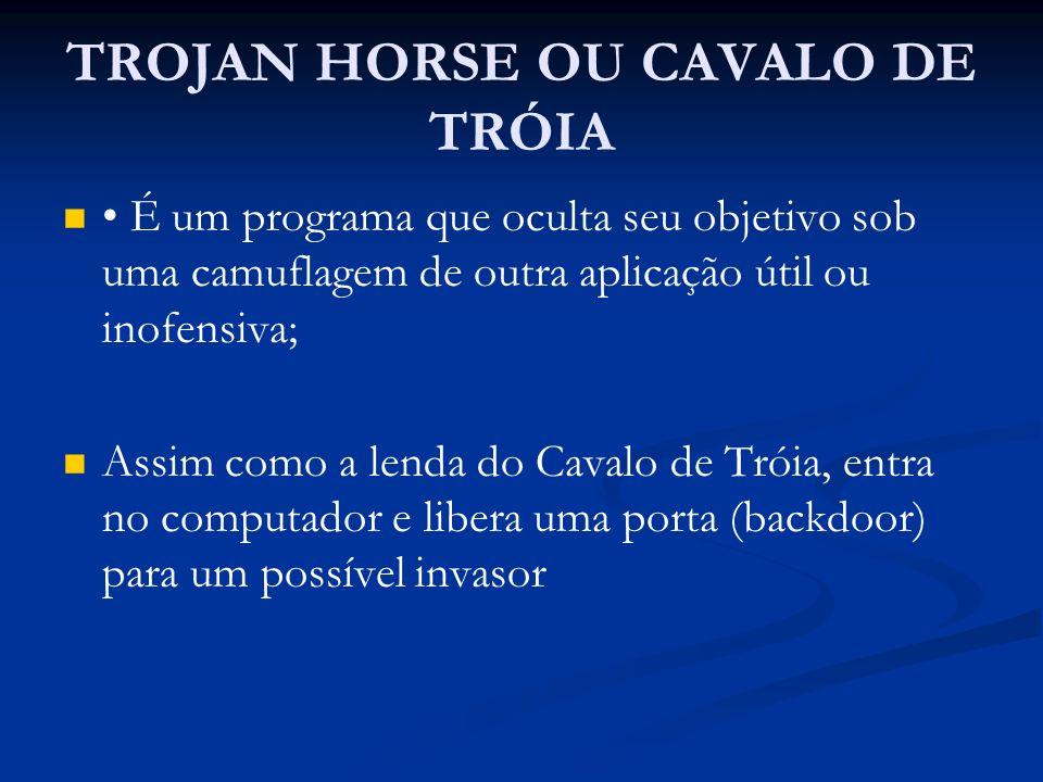 TROJAN HORSE OU CAVALO DE TRÓIA
