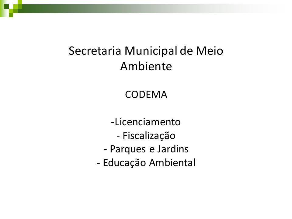 Secretaria Municipal de Meio Ambiente