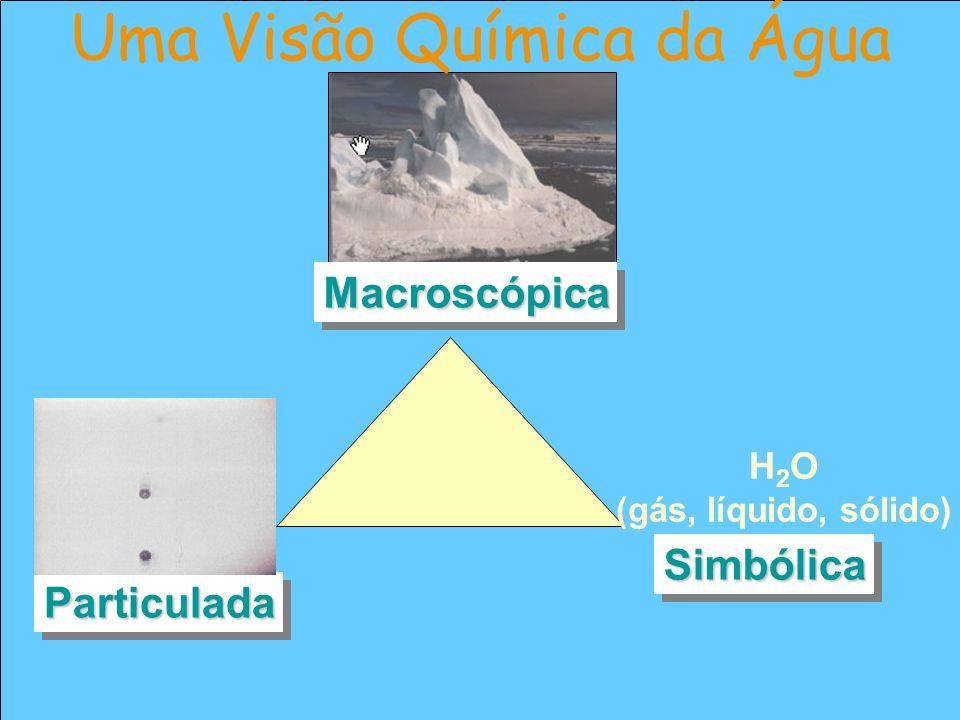 Uma Visão Química da Água