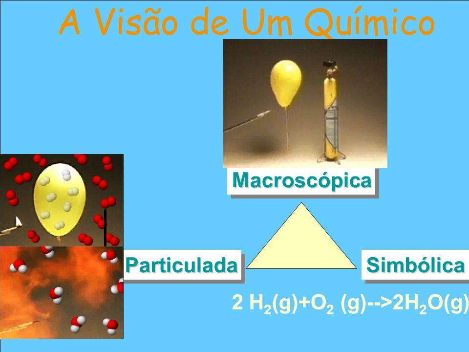 A Visão de Um Químico Macroscópica Particulada Simbólica
