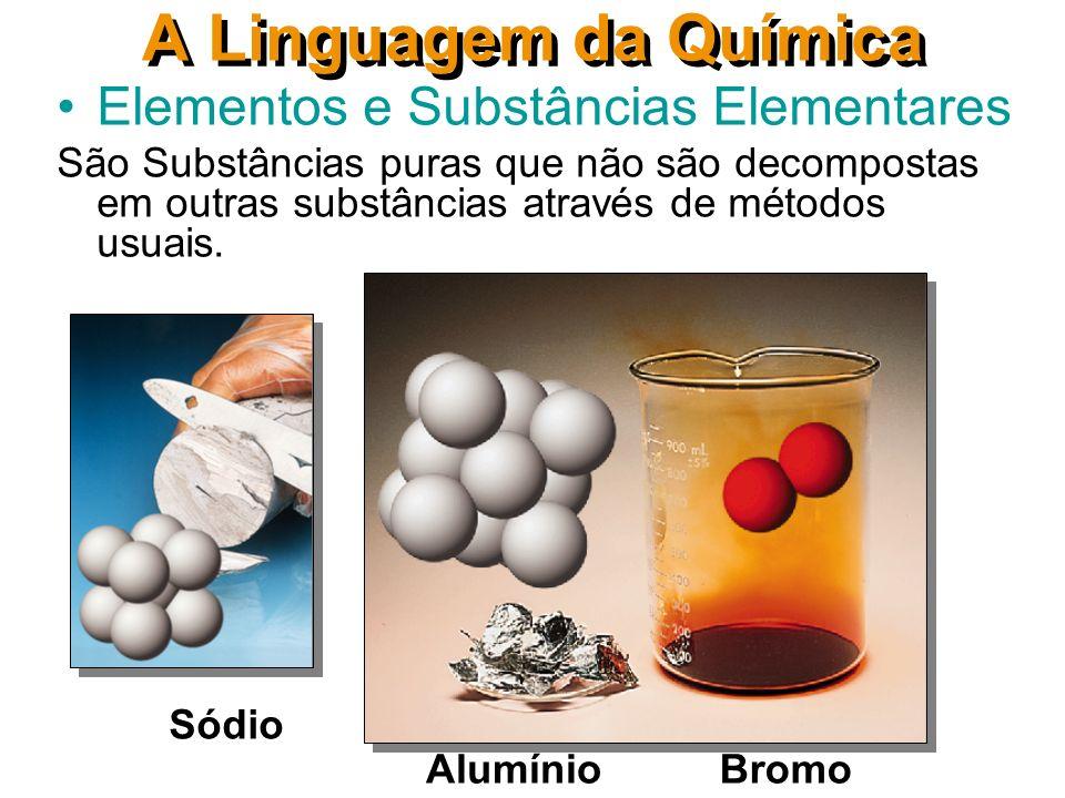 A Linguagem da Química Elementos e Substâncias Elementares