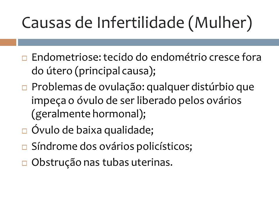 Causas de Infertilidade (Mulher)