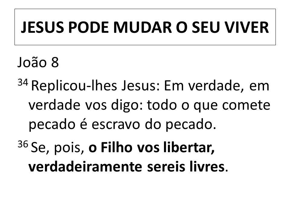 JESUS PODE MUDAR O SEU VIVER
