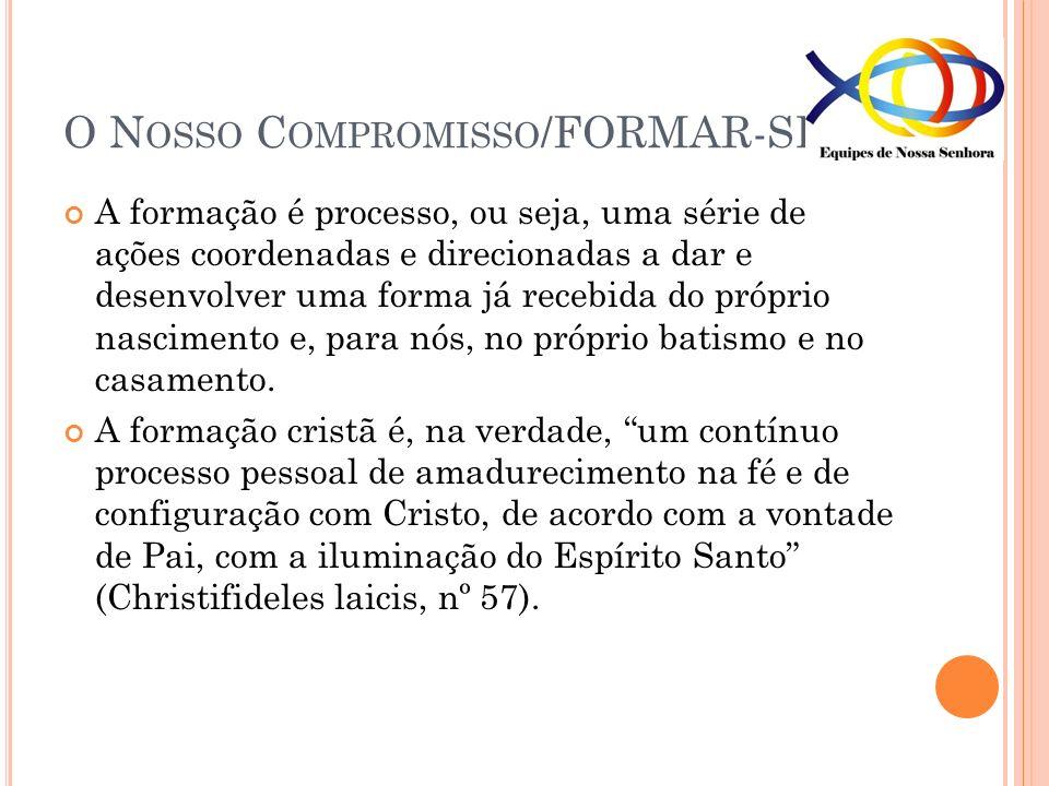 O Nosso Compromisso/FORMAR-SE