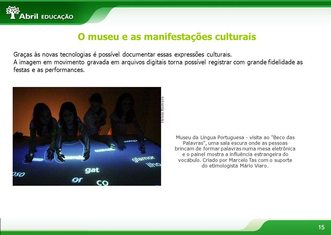 O museu e as manifestações culturais