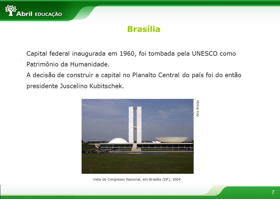 Vista do Congresso Nacional, em Brasília (DF), 2004