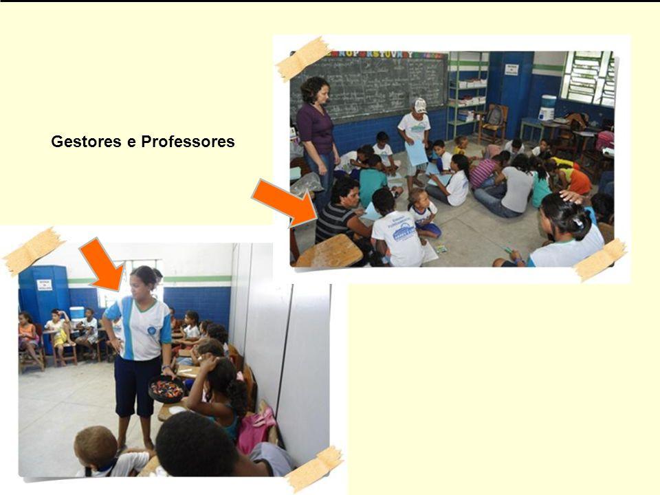 Gestores e Professores