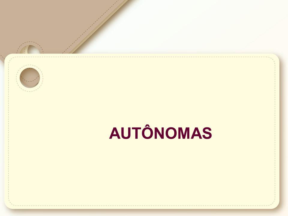 AUTÔNOMAS