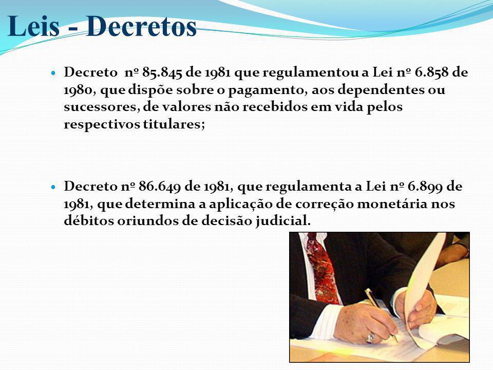 Leis - Decretos