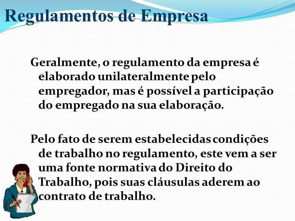 Regulamentos de Empresa