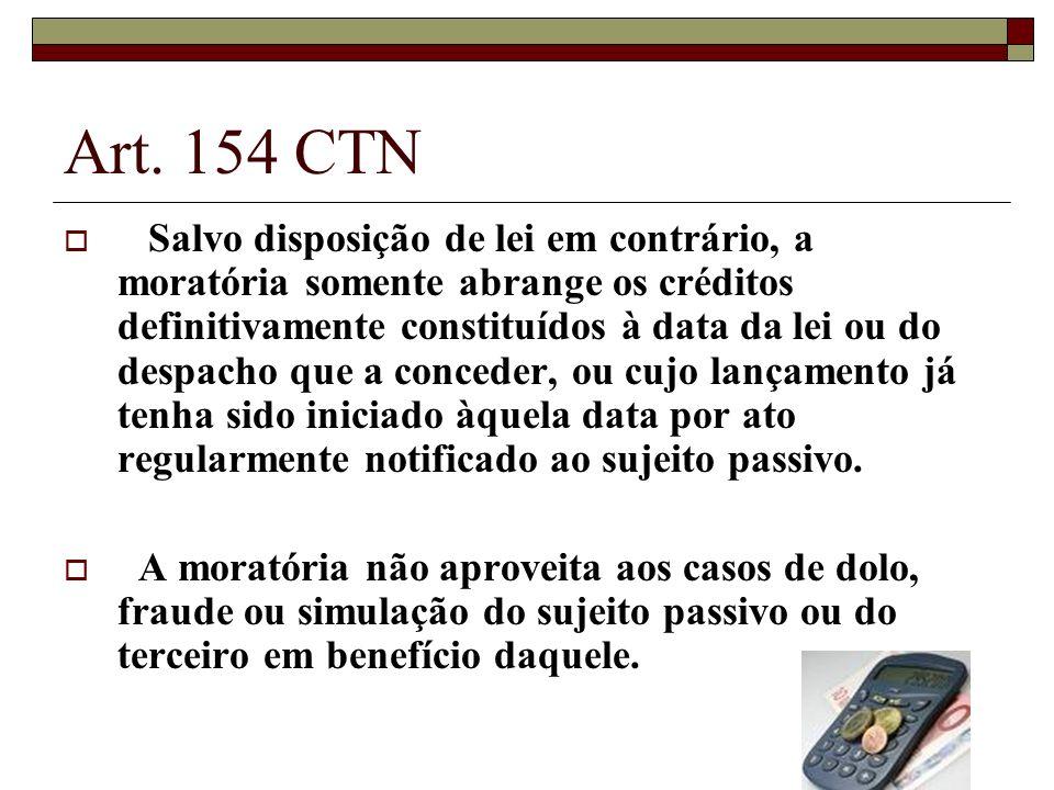 Art. 154 CTN