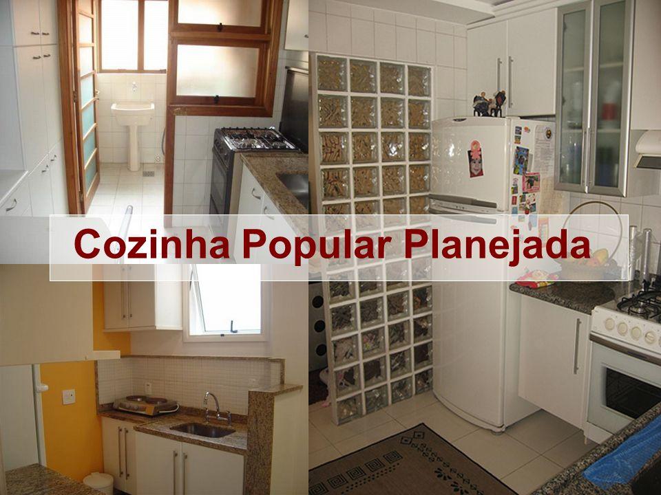 Cozinha Popular Planejada