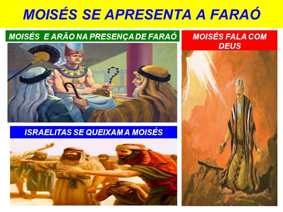 MOISÉS SE APRESENTA A FARAÓ