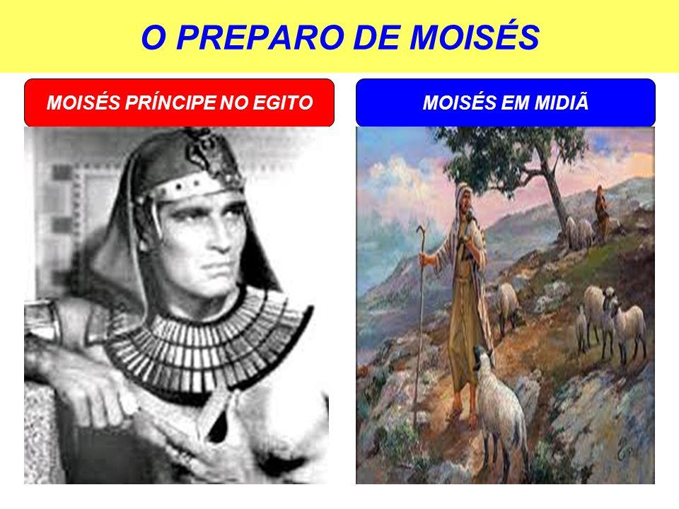 MOISÉS PRÍNCIPE NO EGITO