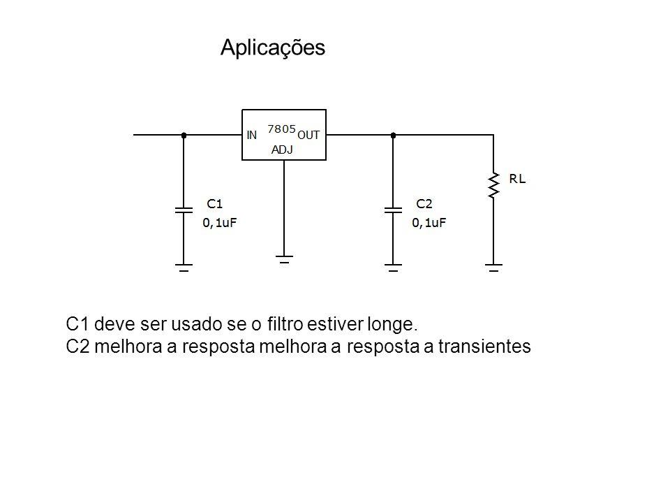Aplicações C1 deve ser usado se o filtro estiver longe.