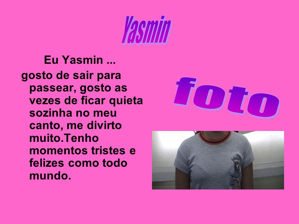 Yasmin Eu Yasmin ...