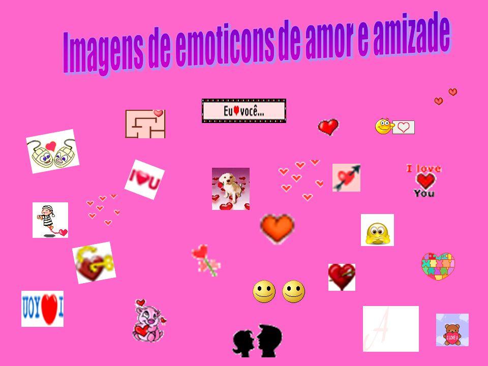 Imagens de emoticons de amor e amizade