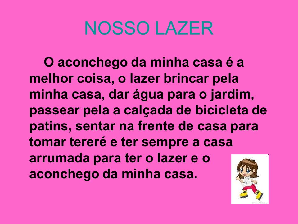 NOSSO LAZER