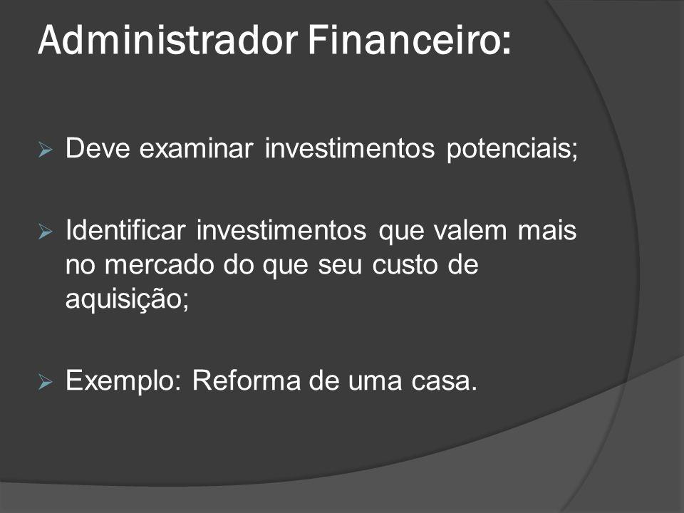 Administrador Financeiro: