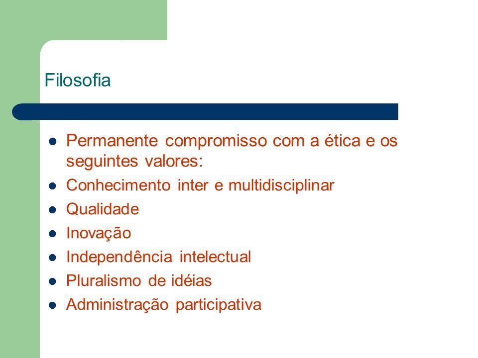 Filosofia Permanente compromisso com a ética e os seguintes valores:
