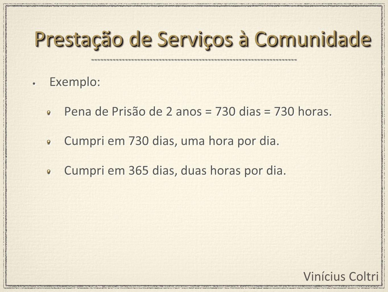 Prestação de Serviços à Comunidade