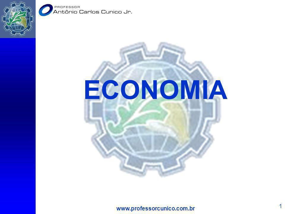 ECONOMIA www.professorcunico.com.br