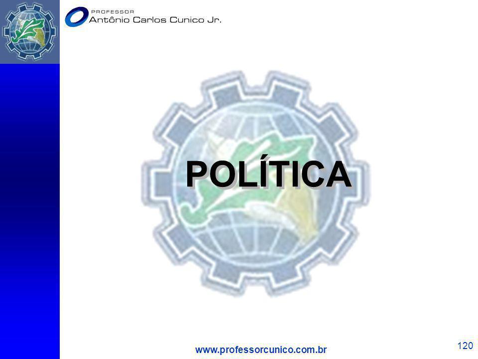 POLÍTICA www.professorcunico.com.br 1