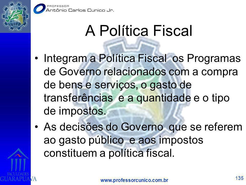A Política Fiscal