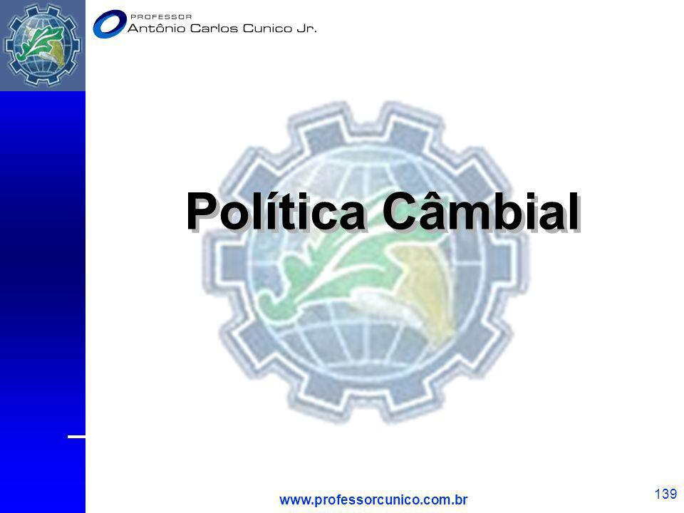 Política Câmbial www.professorcunico.com.br 1