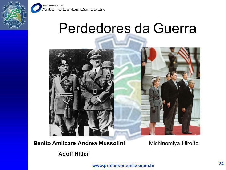 Perdedores da Guerra Benito Amilcare Andrea Mussolini