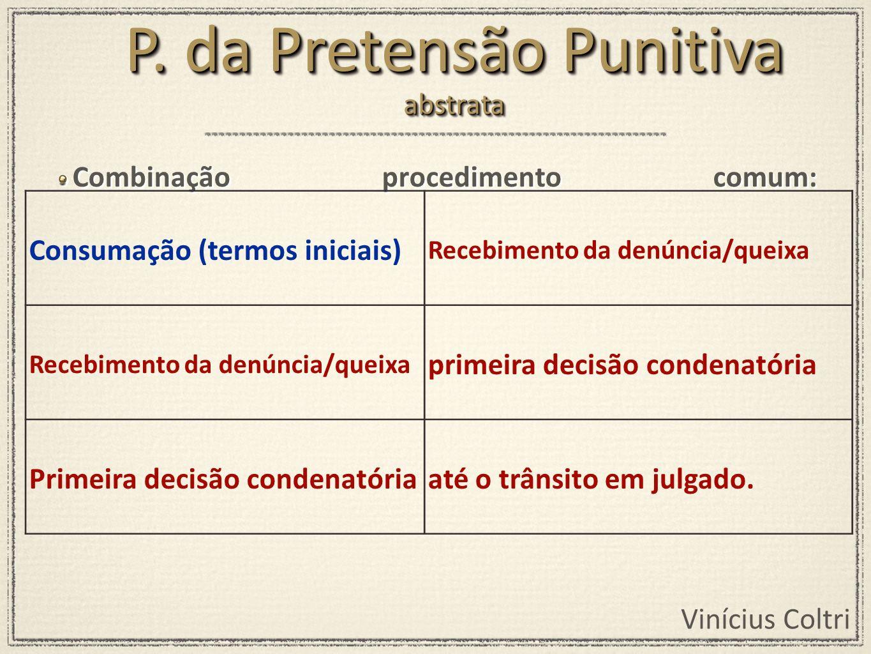 P. da Pretensão Punitiva