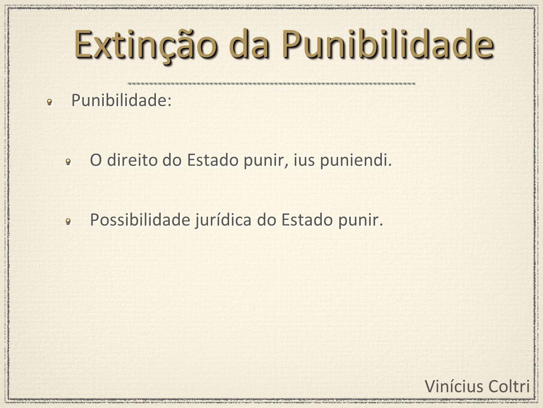 Extinção da Punibilidade