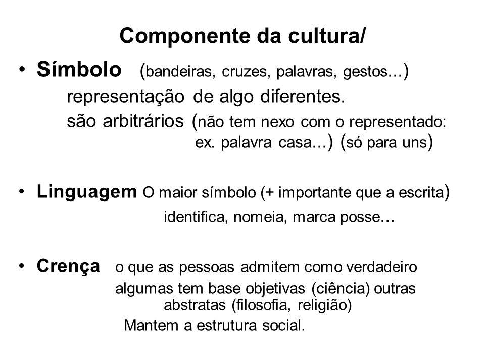 Componente da cultura/