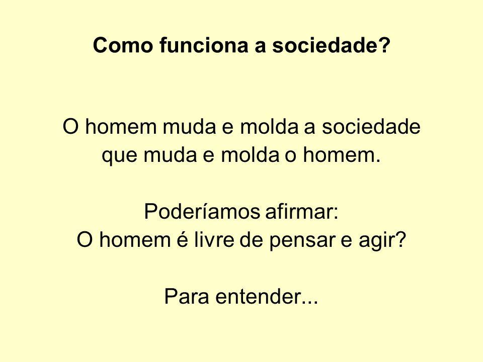 Como funciona a sociedade