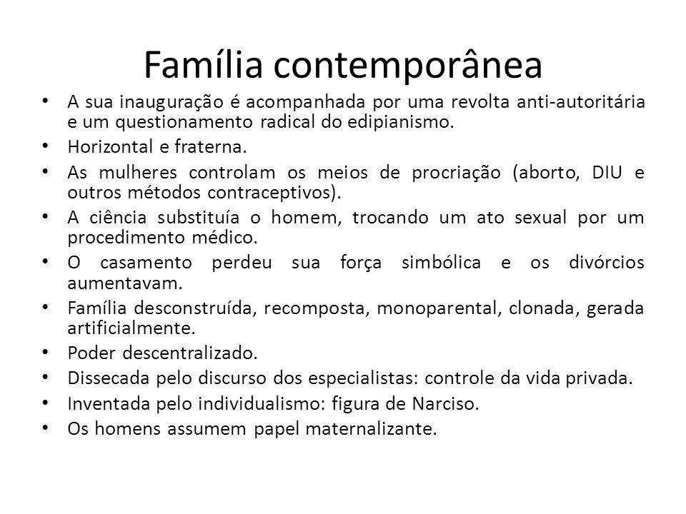 Família contemporânea
