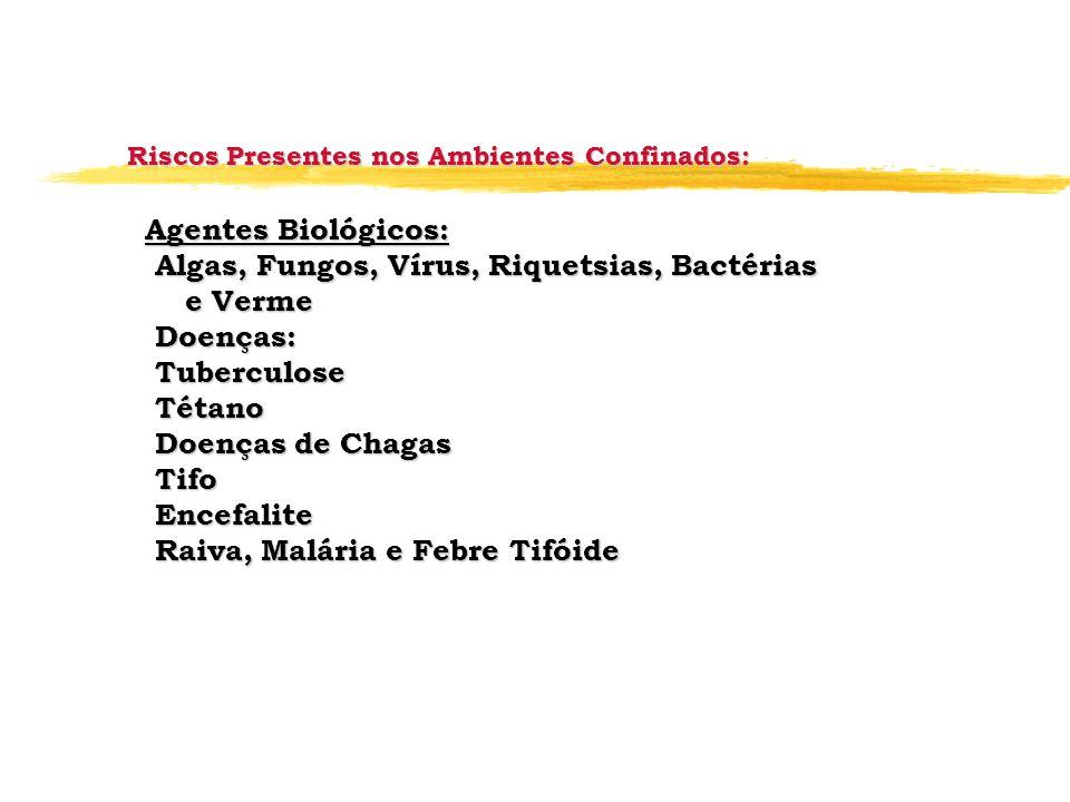 Algas, Fungos, Vírus, Riquetsias, Bactérias e Verme Doenças: