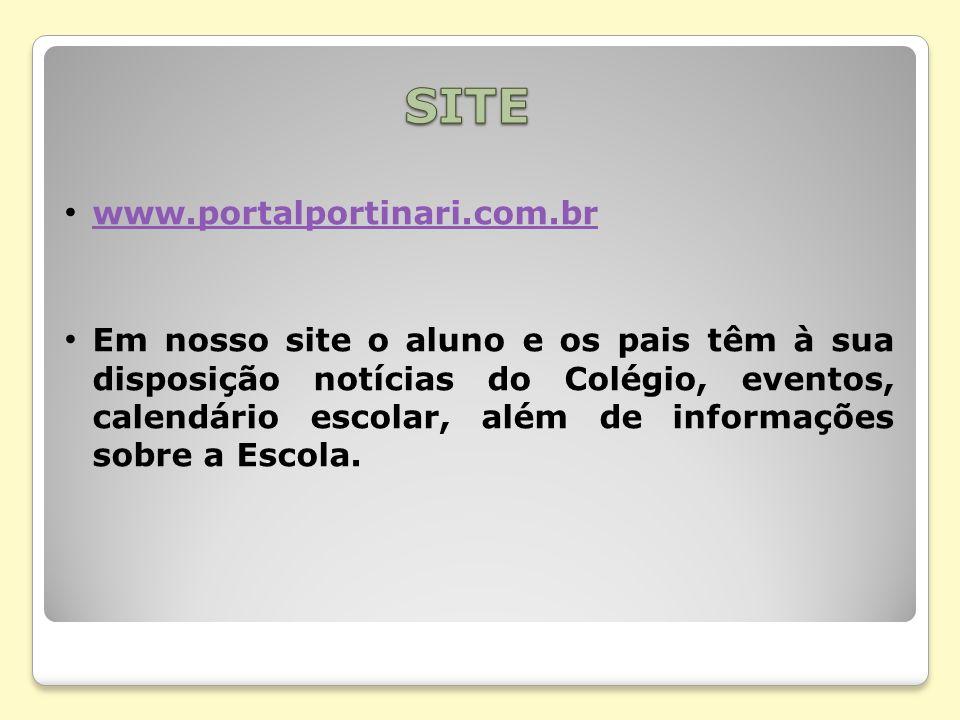 SITE www.portalportinari.com.br