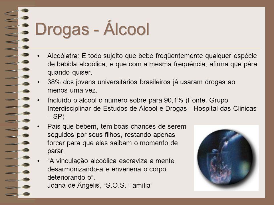 Drogas - Álcool