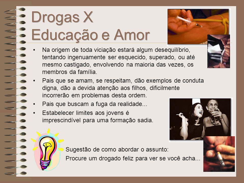 Drogas X Educação e Amor