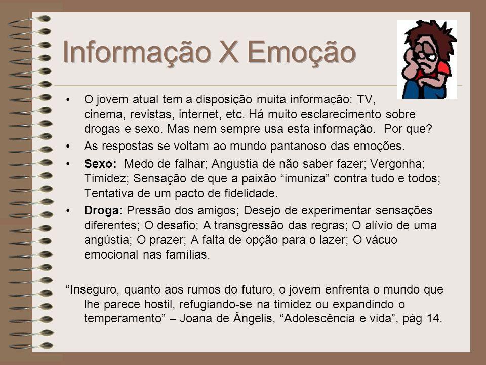Informação X Emoção