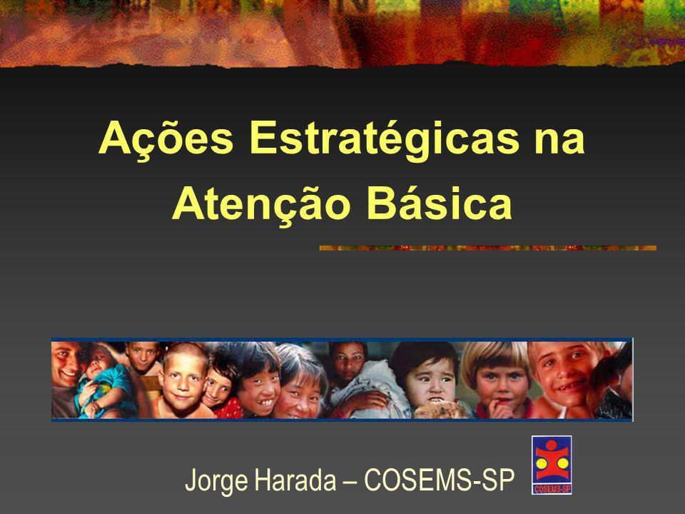 Ações Estratégicas na Atenção Básica