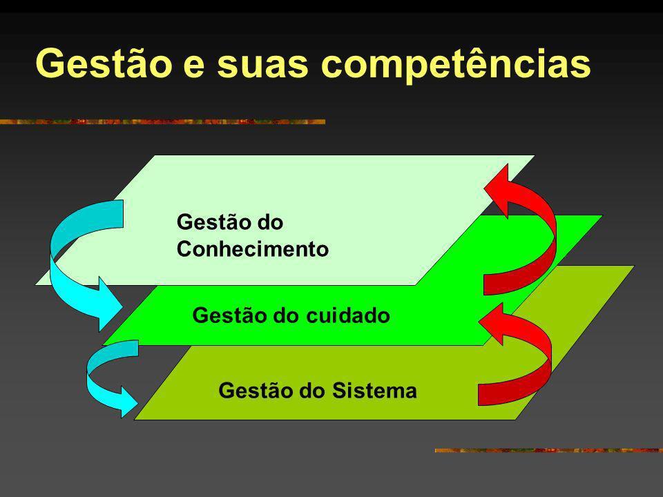 Gestão e suas competências
