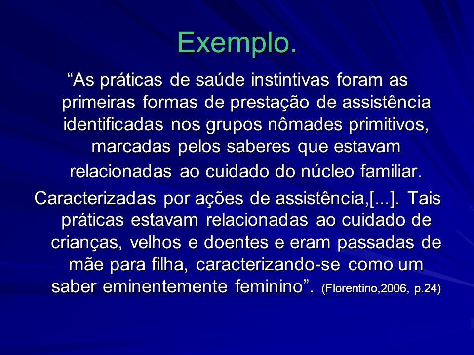 Exemplo.