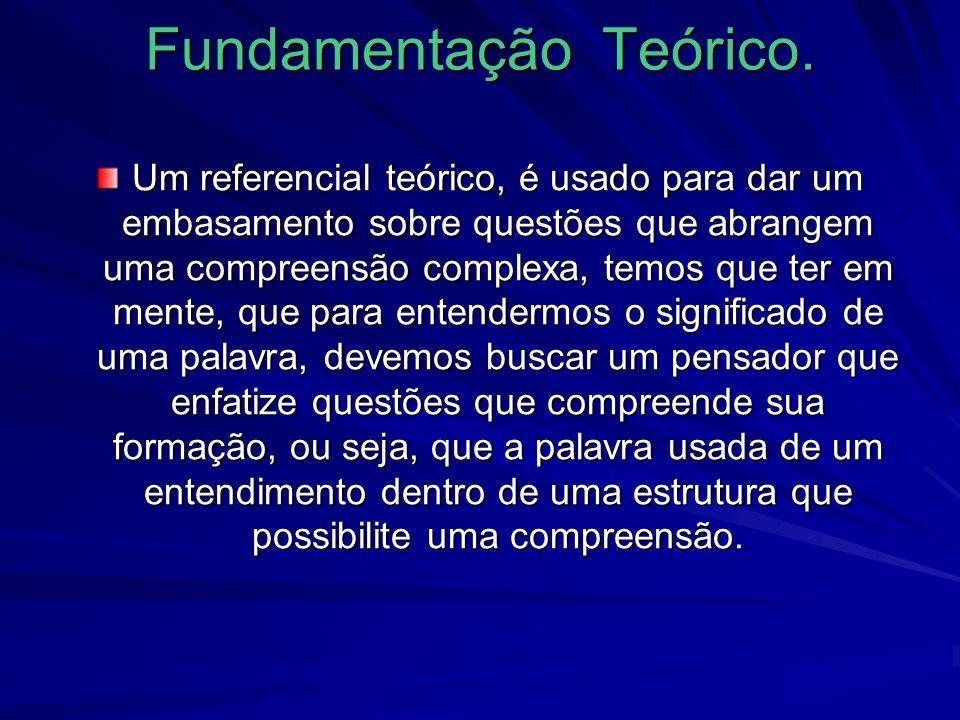 Fundamentação Teórico.